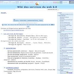 Wiki - Principaux sites du Web 2.0