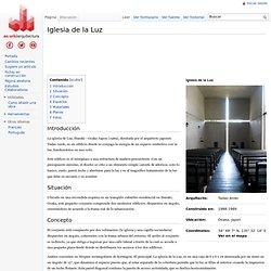 Iglesia de la Luz - WikiArquitectura - Arquitectura del Mundo
