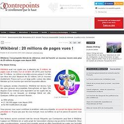 Wikibéral : 20 millions de pages vues!