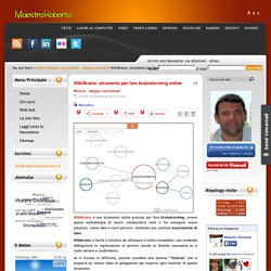 WikiBrains: strumento per fare brainstorming online