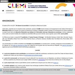 Wikiconcours- CLEMI