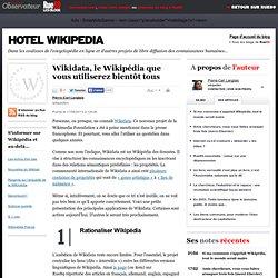 Wikidata, le Wikipédia que vous utiliserez bientôt tous