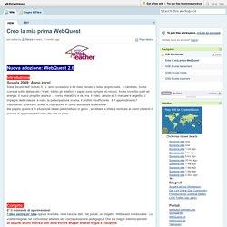 wikiforwebquest / Creo la mia prima WebQuest