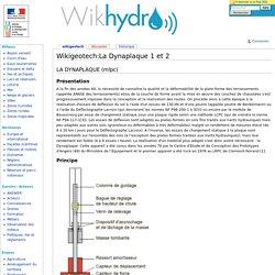 Wikigeotech:La Dynaplaque 1 et 2