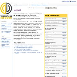 WikiInfoDoc | Accueil / Presentation browse