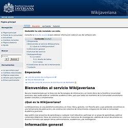 Portada - WikiJaveriana
