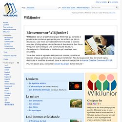 Wikijunior - Wikilivres - Iceweasel