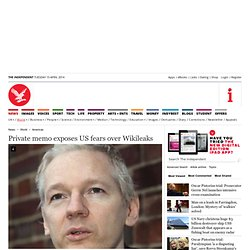 US fears over Wikileaks