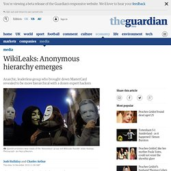 WikiLeaks: Anonymous hierarchy emerges