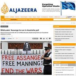 WikiLeaks' Assange to run in Australia poll - Asia-Pacific - Al Jazeera English - Pale Moon