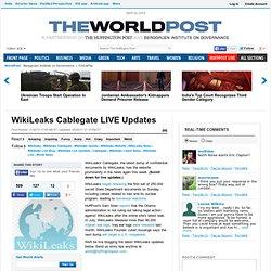 WikiLeaks Cablegate LIVE Updates