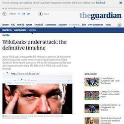 WikiLeaks under attack: the definitive timeline