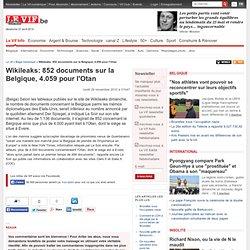 Wikileaks: 852 documents sur la Belgique, 4.059 pour l'Otan - Belga Generique