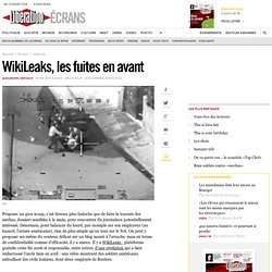 WikiLeaks, les fuites en avant