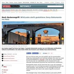 WikiLeaks stellt gestohlene Sony-Dokumente ins Netz