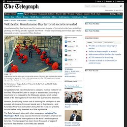 WikiLeaks: Guantanamo Bay terrorist secrets revealed