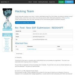 The Hackingteam Archives
