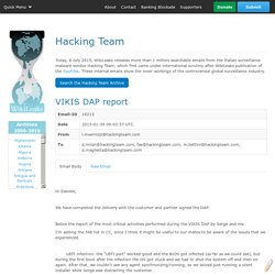 The Hackingteam Archives