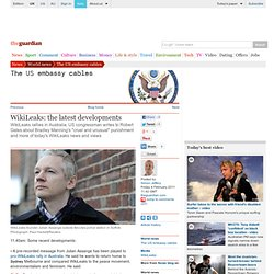 WikiLeaks: the latest developments | World news