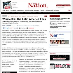 WikiLeaks: The Latin America Files