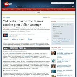 Wikileaks : pas de liberté sous caution pour Julian Assange