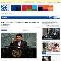 WikiLeaks: Pour Mahmoud Ahmadinejad, c'est un complot américain