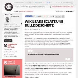 WikiLeaks éclate une bulle de schiste