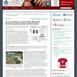 Un nouvel éditeur scolaire utilise Wikimédia Commons sans respecter le droit d'auteur