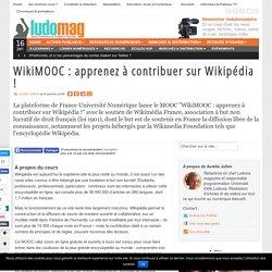 WikiMOOC : apprenez à contribuer sur Wikipédia !
