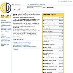 Accueil / EspaceInformationnel browse