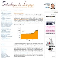 Technologies du Langage: Wikio: 100 000 blogs