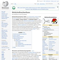Methylsulfonylmethane - Wikipedia