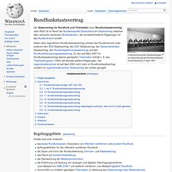 Rundfunkstaatsvertrag