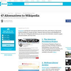 Wikipedia Alternatives - 47 Websites You Can Use Instead of Wikipedia