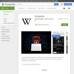 Wikipedia - Apps en GooglePlay