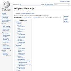 Wikipedia:Blank maps