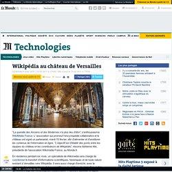 Wikipédia au château de Versailles