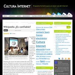 Wikipedia ¿Es confiable? « Cultura Internet