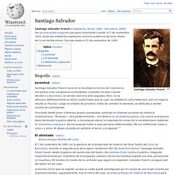 Santiago Salvador