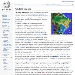 Acuífero Guaraní