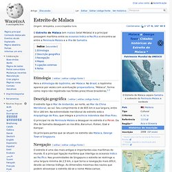 Estreito de Malaca