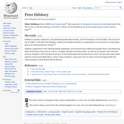 Peter Didsbury