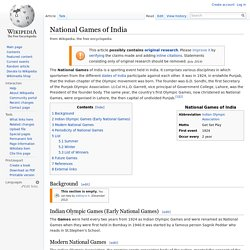 National Games of India
