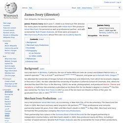 James Ivory (director)