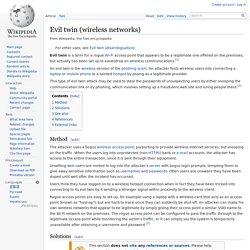 Evil twin (wireless networks)