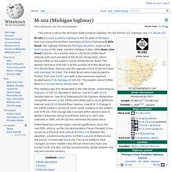 M-102 (Michigan highway)