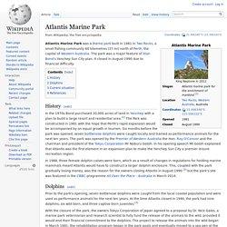 Atlantis Marine Park