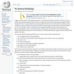 Po (lateral thinking)