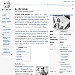 Reg Saunders