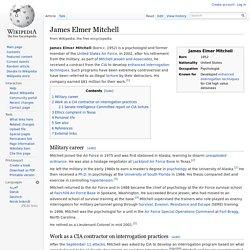 James Elmer Mitchell